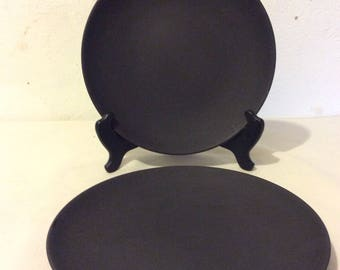 Wedgwood Basalt  plates.Pair