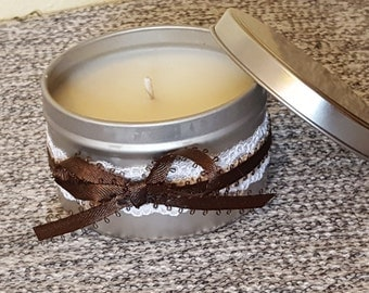 8 oz CinnaBun Tin Candle