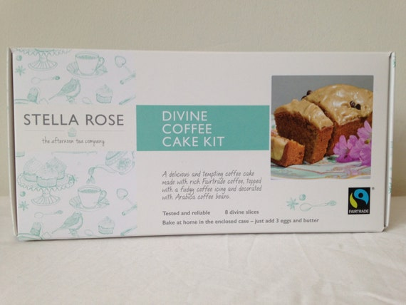 Divine coffee cake kit by Stella Rose