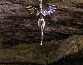 Angel pendant, Sterling Silver, Weight 6g.