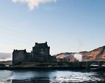 Eilean castle, island of Skye, Isle of Skye, Scottish landscapes, landscapes, natural paysayges, highlands scotland, mountains and nature