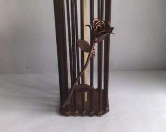 Bottle prison / metal art / LMart / bottle holder / gift / souvenir