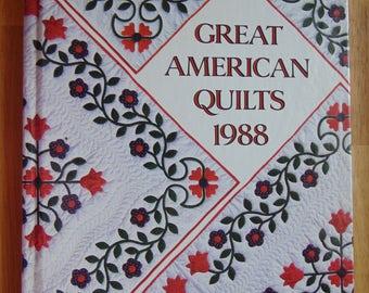 Great American Quilts 1988  Sandra L. O'Brien   Book   OOP