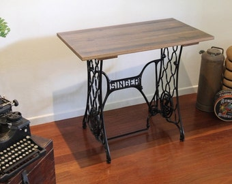 Vintage Singer Table