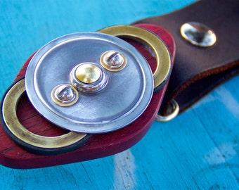 Industrial Art Belt Buckle - Poker series
