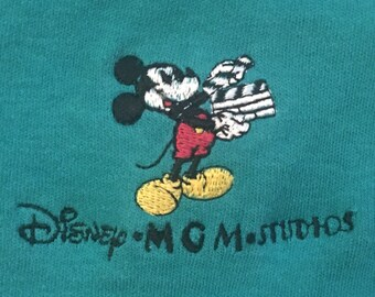 Vintage Disney MGM Mickey Mouse Polo Shirt