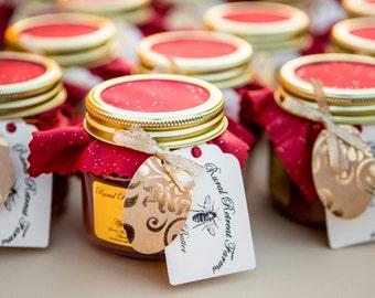 Organic Apple Butter Wedding Favors