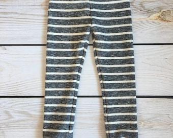 Grey Stripe Skinny Sweats