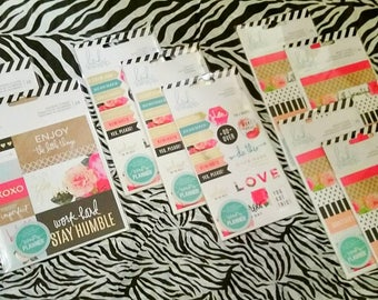 9 pk. Bundle Set by Heidi Swapp : Set of 9 Heidi Swapp Memory Planner Sticker Sets