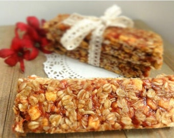 Peanut Butter and Jelly Granola Bar