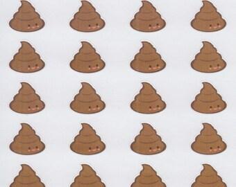 Poop | 2005 | Planner Sticker | Kikki-K | Happy Planner | Erin Condren