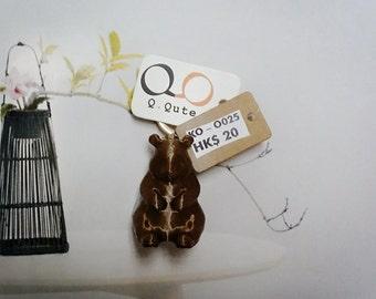 Bear 3D Print Keychain