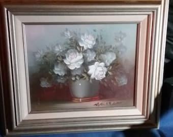 Robert cox rose painting