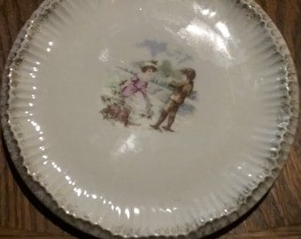 Kpm antique hand painted porcelain