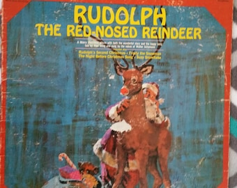 Rudolph The Red-Nosed Reindeer LP