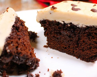 Cafe Mocha Coffee Chocolate Cake
