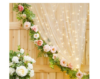Multistrand Curtain Lights