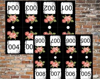 Facebook Live Sale Numbers/Reversed Forward/Mirror Numbers 001-200/