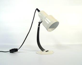 Funky desk lamp | Etsy:RESERVED FOR Wan-Huan Lee Adjustable Vintage Desk Lamp / Vintage Study Lamp  / Space Age Architectural Lamp / 70s Table Lamp / Retro Light,Lighting