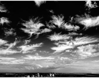 Mysterious Clouds on the Gold Coast, Australia - Photography Print