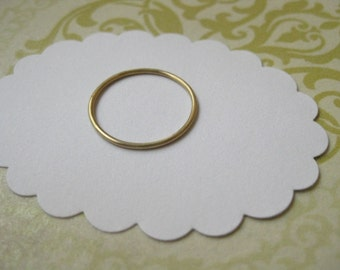 Fine 18 karat gold ring