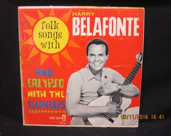 Folk Songs With Harry Belafonte - Coronet Records