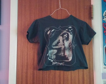 Frank Zappa Hand Cropped and Destroyed Explicit Tee