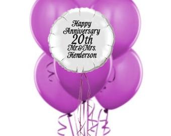 """20"""" Round 16"""" Laytex Balloon Boquet!!"""