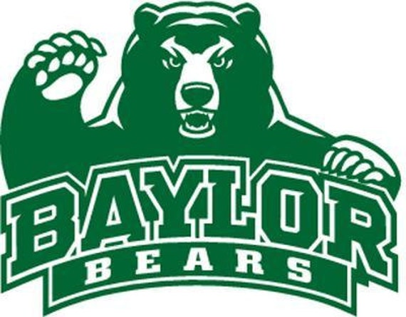 Vinyl Decal Sticker - Baylor Bears Tide Decal for Windows, Cars, Laptops, Macbook, Yeti, Coolers, Mugs etc