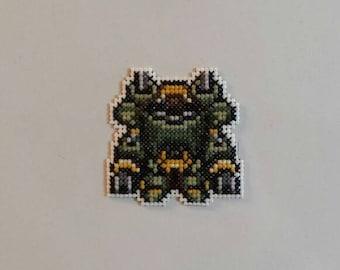 Magitek Armor!  A Final Fantasy 6 magnet.