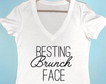 Resting Brunch Face Shirt Women's Shirt