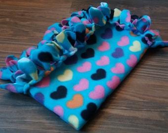 Fleece Tied Pet Blankets for Charity
