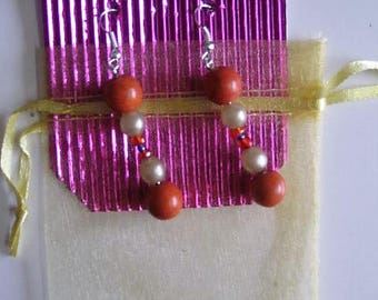 Faux, Pearls, Earrings, Jewellery