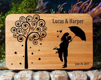 Wedding Cutting board Personalized Cutting Board Cutting Board Mason Jar Wedding gift cutting board Gift for couple Bridal Shower Gift