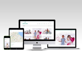 Web design - CLOTHING Children's - Custom Website Design eCommerce