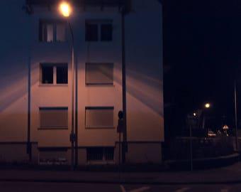 "night # 29-20 x 30 cm. Series ""at rest"""