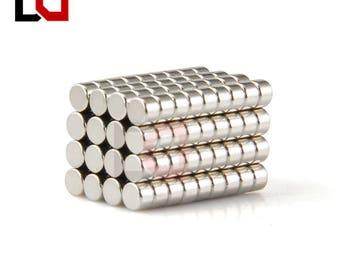 1000pcs Disc mini 2x2mm n50 rare earth neodymium magnet super magnets nickel