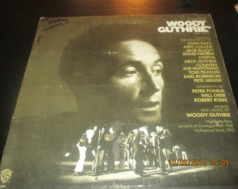 Woody Guthrie VG+ vinyl - A tribute to Woodie Guthrie - Original Edition - The Bestvinylrecords Lp in VG++ Condition.