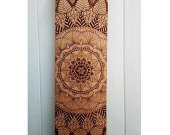 Mandala Skate Deck