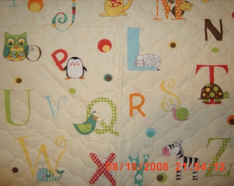 ABC Baby Quilt