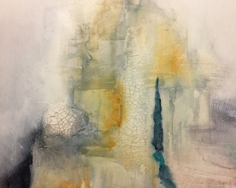 Abstract painting - Reconstruction I