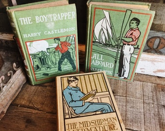 Old Books - 1800's Fiction for Boys