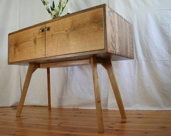 """Konrad"" sideboard oak TV Board with doors"