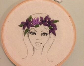 Lauren Embroidery hoop