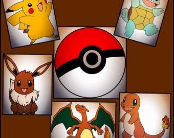 Pokemon SVG  -Pokemon Layered SVG Png Jpeg - Pokemon designs made for cricut and silhouette