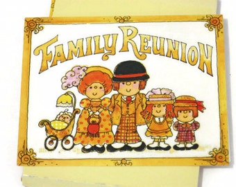 Vintage Family Reunion Invitations, Party Invitations, Family Reunion