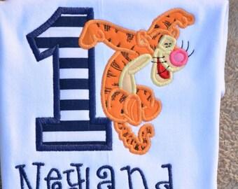 Tigger Birthday Shirt ~ Personalized Name Shirt ~ Winnie the Pooh