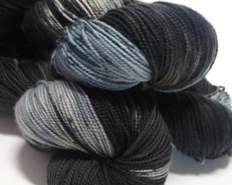 Nyx- Hand Dyed Merino Wool - Sock Weight