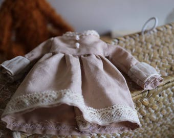 Vintage, Classic style Blythe clothes, one-piece dress