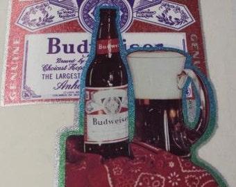 Budweiser  Vintage Heat/Iron On Transfer
